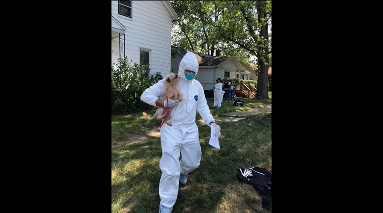 Police: Animals Removed from Michigan City Home Could Not Stand or Walk