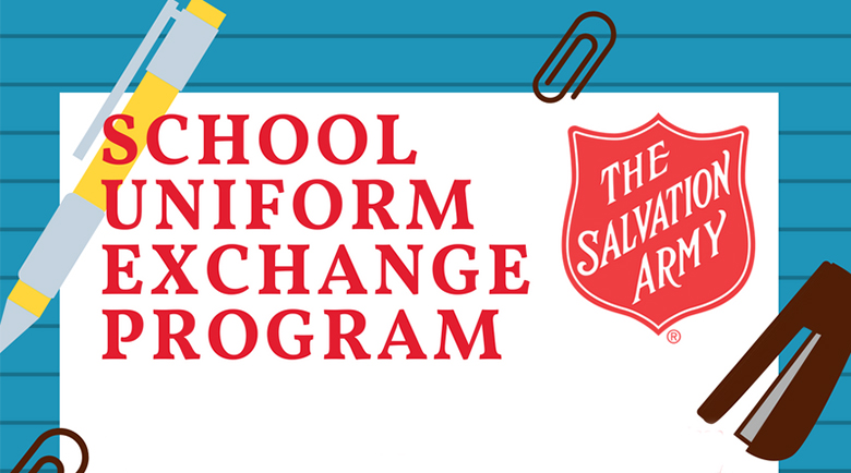 Salvation Army of Michigan City Offers School Uniform Exchanges