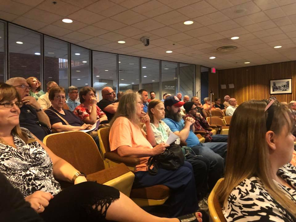 Residents Fill City Hall During Zoning Appeals Meeting to Support Local Homeless Shelter