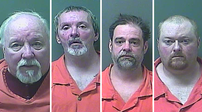 "Sex Offenders Arrested in La Porte County's ""Operation Santa Sweep"""
